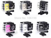 Wholesale 1lots=10pcs Original SJ4000 Diving 30M Waterproof 1080P Full HD Helmet Camera Underwater Sport Cameras Sport DV Gopro