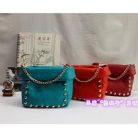 2014 Fashio designer handbag Mng rivets bag women's Shoulder/Messenger handbag mango handbag dimond/brand bag