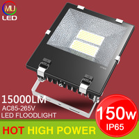 AC 85-265V 150W Floodlights,Outdoor LED Waterproof Garden light, Warm white/ White Free Shipping