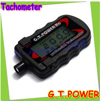 100% original New G.T. Power Model Profession RC Motor Tachometer +free shipping