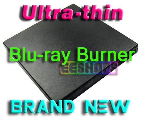 Cheap Notebook PC Ultra-thin USB External Blu-ray Recorder UJ-242 Super Multi 4X Bluray BD-RE 8X DVD RW Burner Portable Drive(Hong Kong)