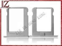 Replacement Sim tray for iphone 4s New and original MOQ 1pic//lot shipping china post 7-15day