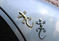 Free shipping Gecko Lizard Car Sticker Motorcycle Sticker Decal Waterproof Reflective Stickers Car Styling Parking