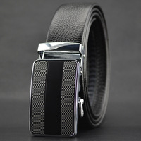 Free shipping the new high-end men's belt cowhide automatic buckle belt buckle belts wholesale business