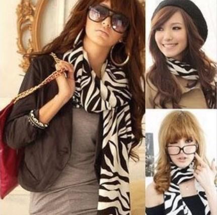New Promotional new winter scarves cashmere twill scarf shawl scarves zebra(China (Mainland))