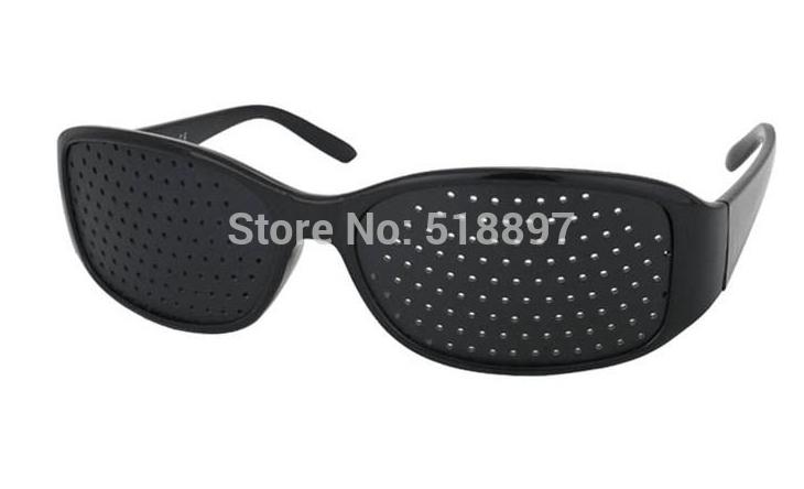 Perforated eyesight glass Lenses To Correct Vision, Fashion Reading Glasses Adjust Bad Eyesight Free Shipping(China (Mainland))