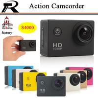 Waterproof digital video camera 1080P Full HD Mini DVR  Extreme Sport Action Camera Camcorder Helmet Camera Video Free shipping