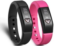 Bluetooth 4.0 smart electronic Bracelet Pedometer Calories Monitoring Sleep Tracking Silicone Wristband for iPhone Samsung