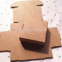 9.5*9.5*3.5cm kraft paper Storage box/Bread box/Gift party box/Packaging box K5