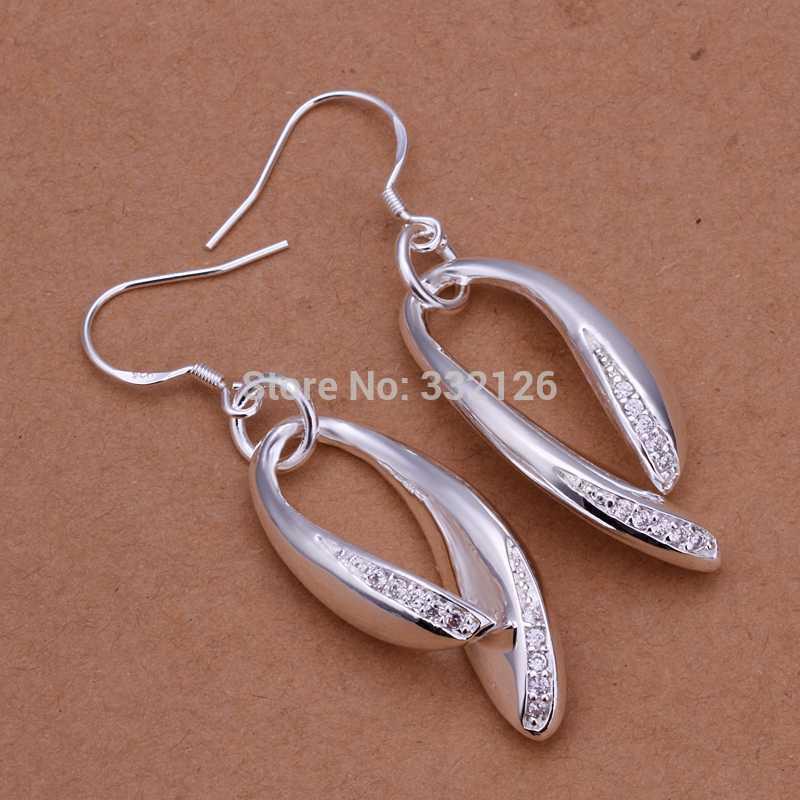 Серьги висячие Silver Angel E288 ! 925 , factory silver серьги гвоздики silver angel 100% 18k 7328