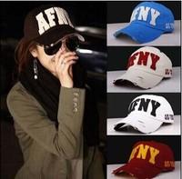 2014 Fashion Baseball Cap, sports cap, sun-shading hat male women's summer sun hat casual cap Unisex mix color