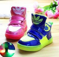Free shipping baby kids winter boots girls waterproof rainboot 2014 child girls sports boots kids girls leather shoes run H-5