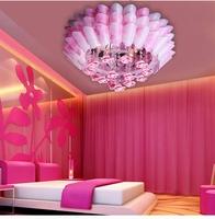 Child light modern brief crystal lamp pendant light bedroom lamp energy saving lamps led restaurant lights lighting