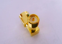 RF SMA Connector Adapter RP-SMA male to RP-SMA female right angle
