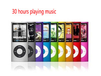 30 hours playing music 32GB  NEW 9 COLORS VIDEO SLIM 4TH GEN MP3 PLAYER support FM RADIO FREE SHIPPING