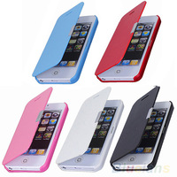 Magnetic Flip Leather Hard Skin Pouch Wallet Case Cover For Apple iPhone 5S 5G phone cases