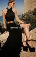 Zuhair Murad 2014 Irina Shayk Sheath Deep V-Neck Evening Dress AmfAR Cinema Against AIDS Gala Celebrity Dresses Designer SH147