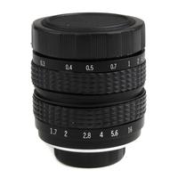 35mm f1.7 C mount CCTV Lens for M4/3 E-P2 E-PL2 G2 GF2 GH2 & NEX-3 NEX-5 NEX-7