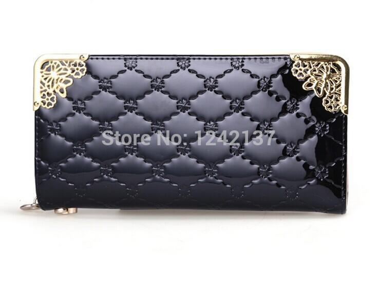 2014 New Fashionable PU wallet woman wallets with zipper(China (Mainland))