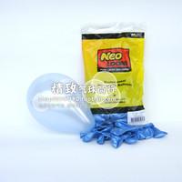 5 inch Pearl NEO round balloon sky blue (Azure) birthday party / South Korea wholesale balloons 100
