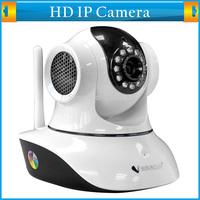 Plug&Play Wireless WPA Network Webcam IP HD Wifi Internet Camera Indoor Dual Audio PT IR Night Vision Home Security Surveillance