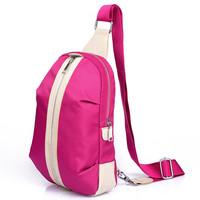 Casual canvas women's handbag small travel cross-body bag sports bag one shoulder waist pack messenger bag chest pack female