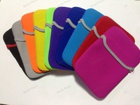 Colorful Neoprene Sleeve Pouch Bag for 7 inch Tablet PC