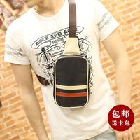 2014 new male chest canvas bag Messenger bag leisure bag desigual waterproof nylon men's travel bags