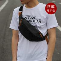 2014 new men bag canvas pouches outdoor sports bag men's shoulder canvas pouches chest  travel bags
