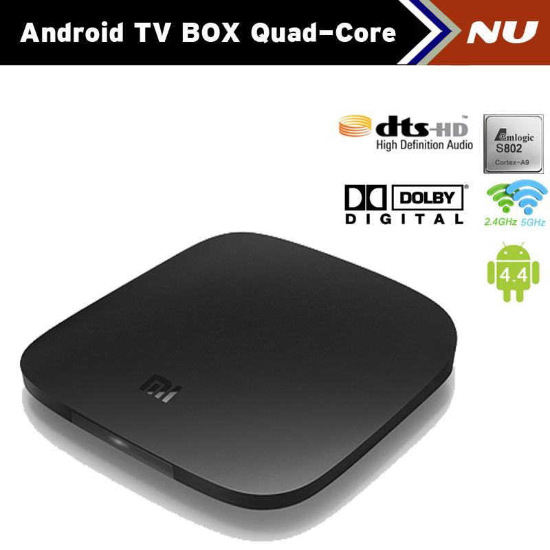 Телеприставка Xiaomi Amlogic S802 2.0 1G /4G 2.4 G/5 GHz WiFi XBMC IPTV /dolby DTS 3