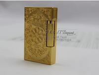 Free shipping STDupont Dupont lighters lighter copper broke the sound crisp limited edition