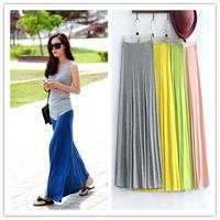 2014 summer fashion modal bust skirt slim hip skirt expansion skirt long skirt beach women's
