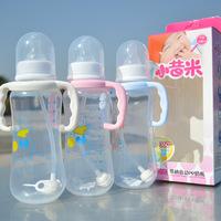 Maternity baby bottle 280 ml bottle baby PP straw stalk automatic bottle 001