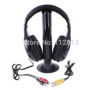 5IN1 Wireless Headphone Casque Audio 5 en1 Sans Fil Ecouteur Hi-Fi Radio FM TV MP3 MP4 Neuf