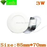 10PCS/LOT 3W LED panel light High quality smd led ceiling light for home light 1440lm 85-265v recessed light LP1