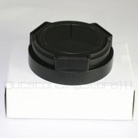 Portable Self-Retaining Auto Lens Cap For Samsung EX1 EX2 EX2F Black  KOO