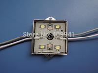 4 pcs  SMD3528LEDs  LED Modules Waterproof IP68 DC12V Warm White/Pure White Square Shape Free ship