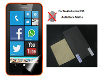 Anti-glare Matte Screen Protector for Nokia Lumia 630 LCD Screen Protective Film Guard Shield, No Retail Package, 20pcs/lot