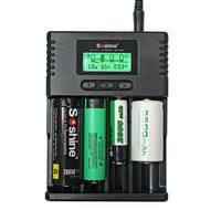 Brand new soshine LCD Universal Li-ion/NiMH/ LiIFePO4 Battery Charger for 10440 14500 18350 18650 26650 AA AAA C