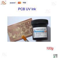 Free shipping !! PCB UV photosensitive inks, Green PCB UV curable solder resist ink,solder mask UV ink