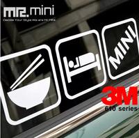 Free Shipping MINI Personality Of Language Stickers EATING  SLEEPING MINI  3M
