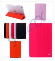 For iPad mini2 mini 2 Unique Design VILI Ultra Thin Six Colors Luxury Flip Leather Stand Case Holder Protective Case Cover