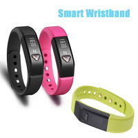 I5 Bluetooth Watch Healthy Smart Bracelet Step Counter Silicone Wristband Sleeping Fitness Running Pedometer