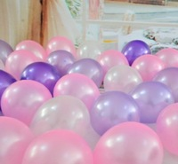1.8 grams of bead light balloon latex balloons 10 inches thick 6 balloons A pack of one hundred wedding balloons