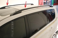 Free Shipping 2006~2012 Toyota RAV4 High quality Aluminium alloy Luggage rack(Pasted directly installed)
