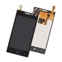 for Huawei Ascend W1-U00 / C00 W1 LCD Display Panel + Touch Screen Digitizer Assembly Repair Part Replacement + Tracking Number