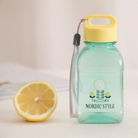 BF015 Hot water bottle Lovely leakage-proof plastic portable travel cup 200 ml 14.5x6x4.5cm free shipping