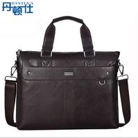 2014 New  Vintage  genuine cowhide Leather Men's handbags Messenger Briefcase Bags Men Shoulder Bag Free shipping(NSB-010)