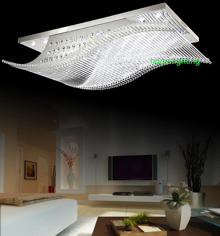 etime® led deckenleuchte dimmbar deckenlampe modern wohnzimmer, Wohnzimmer ideen