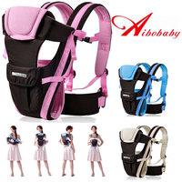 Baby Carrier Multifunction Cotton Backpacks Baby Shoulders Sling Wrap Toddler Boys Front Carriers Pink blue 0-30M 15kg 20Kg
